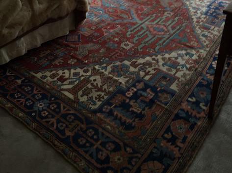 Bedroom Decoration with Turkish Carpet