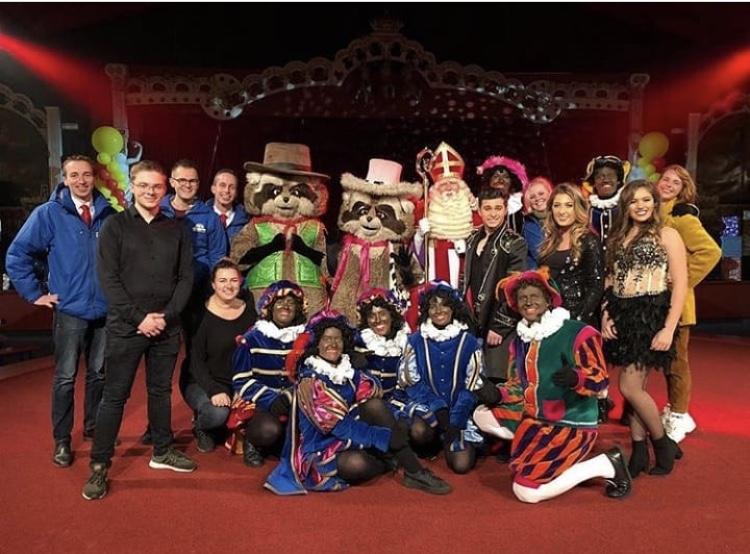 Sinterklaas show slagharen