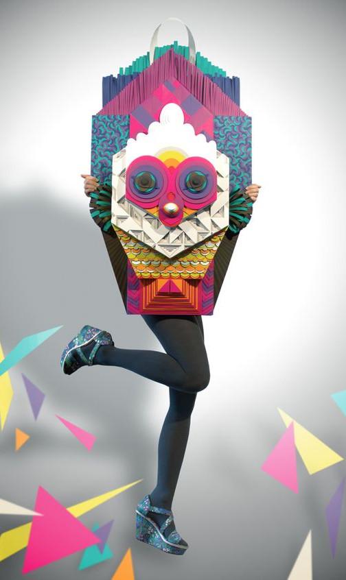 Color Owl Mask