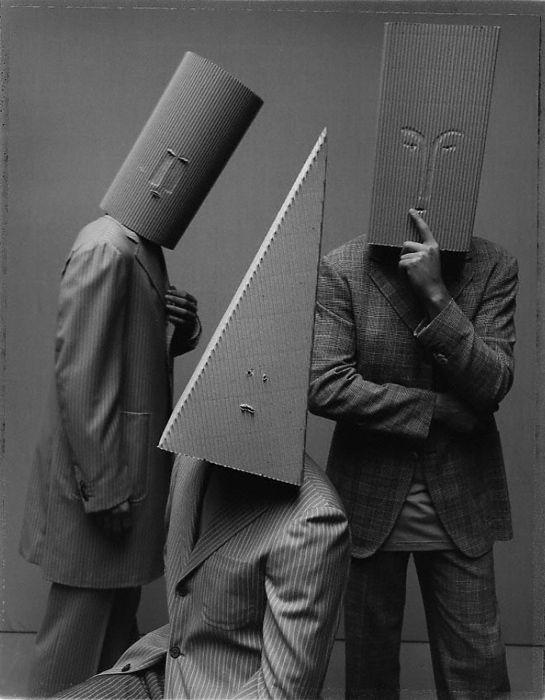 Oskar Schlemmer Bauhaus Inspired Cardboard Masks