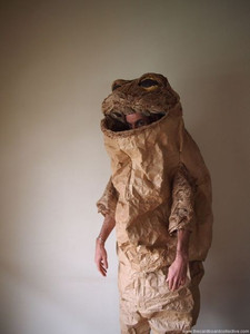 Paper Toad Costume