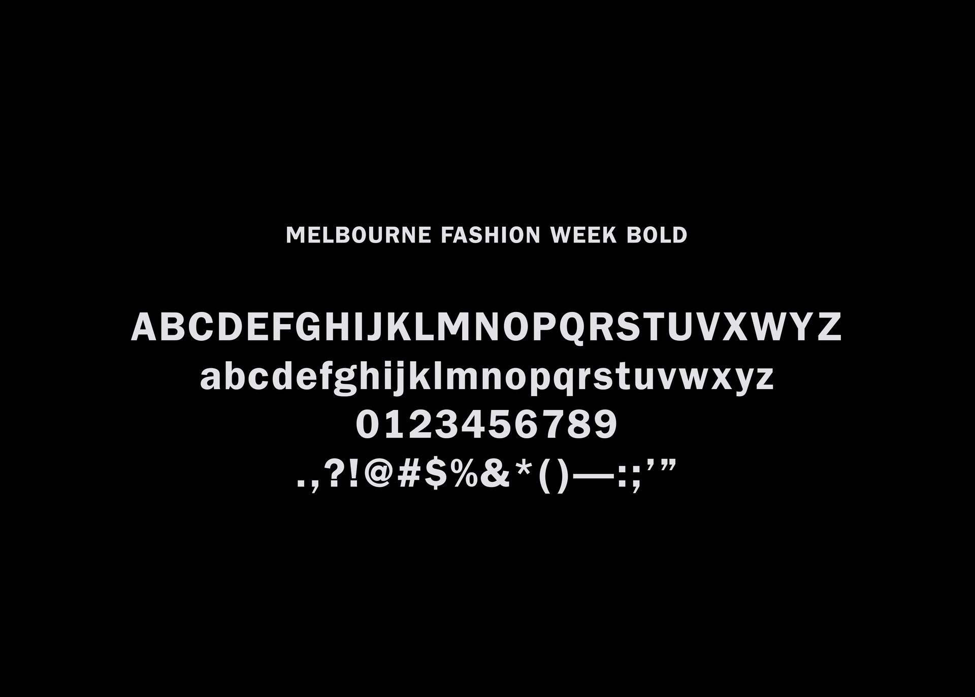 Melbourne Fashion Week by Leah Procko