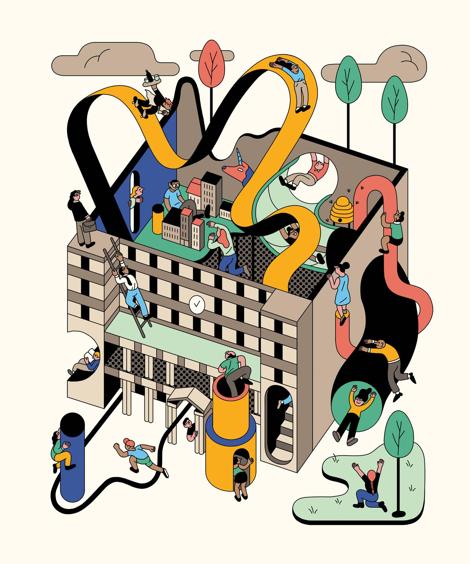 Customs House Artist Series by Leah Procko