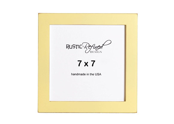 """7x7 1"""" Gallery Picture Frame - Daffodil"""