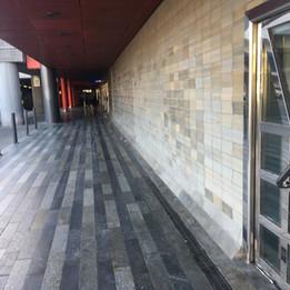 Wallride   - Subway station: Hlavní nádražíC - Up stairs behind Potrefená husa restaurant - Secured
