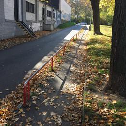 Long flat rail
