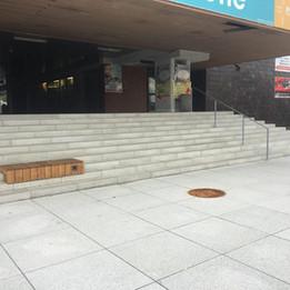 Huge rail 11 stairs