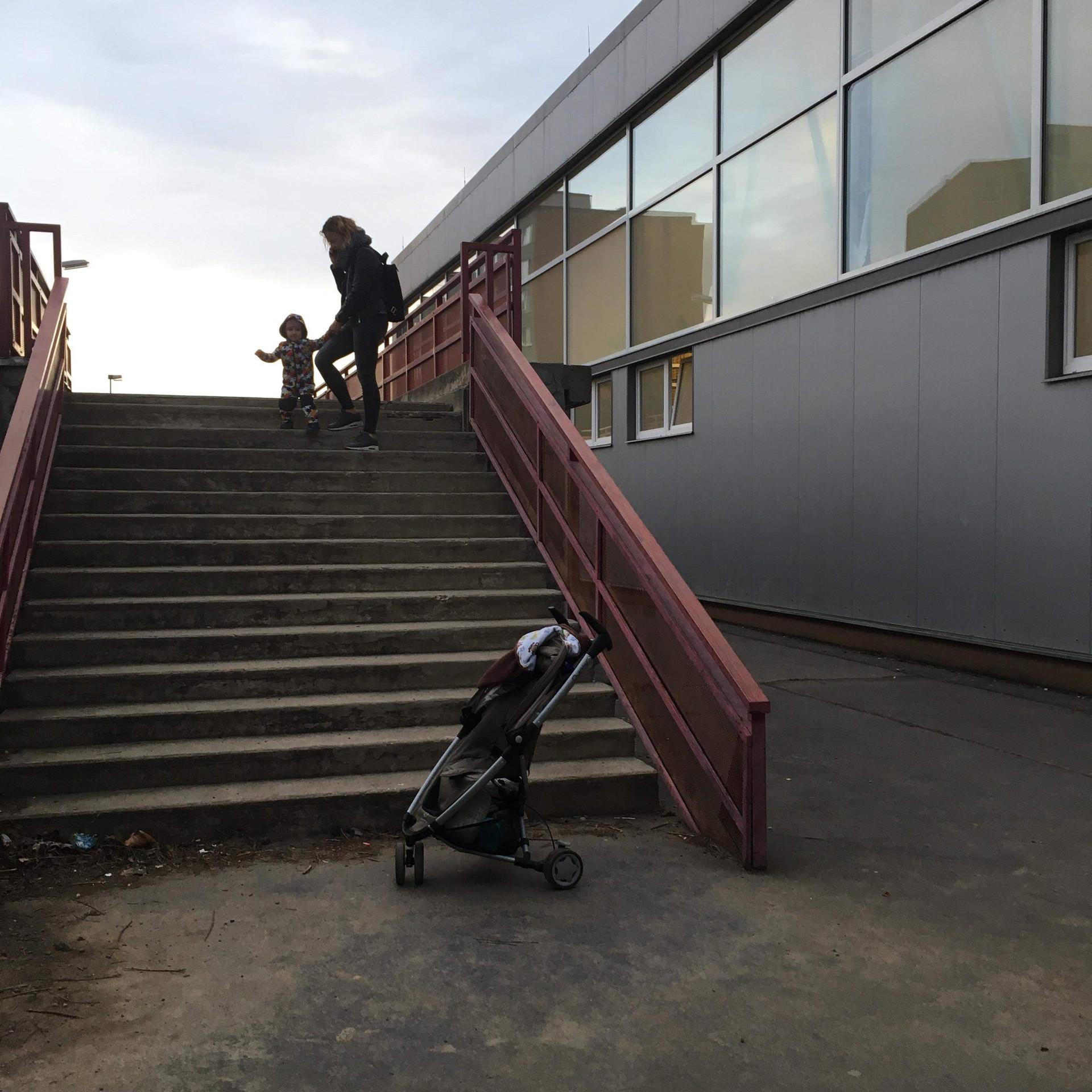 Rail 15stairs