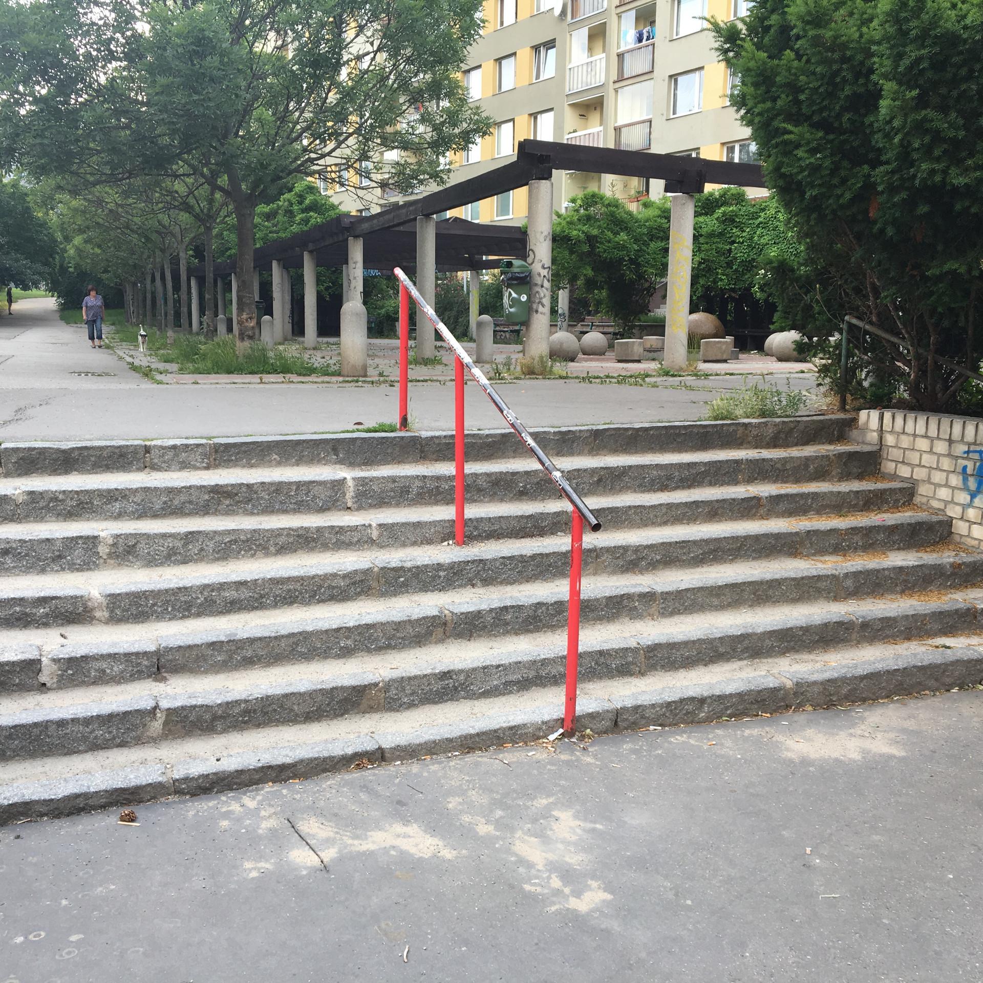 Rail 7 stairs