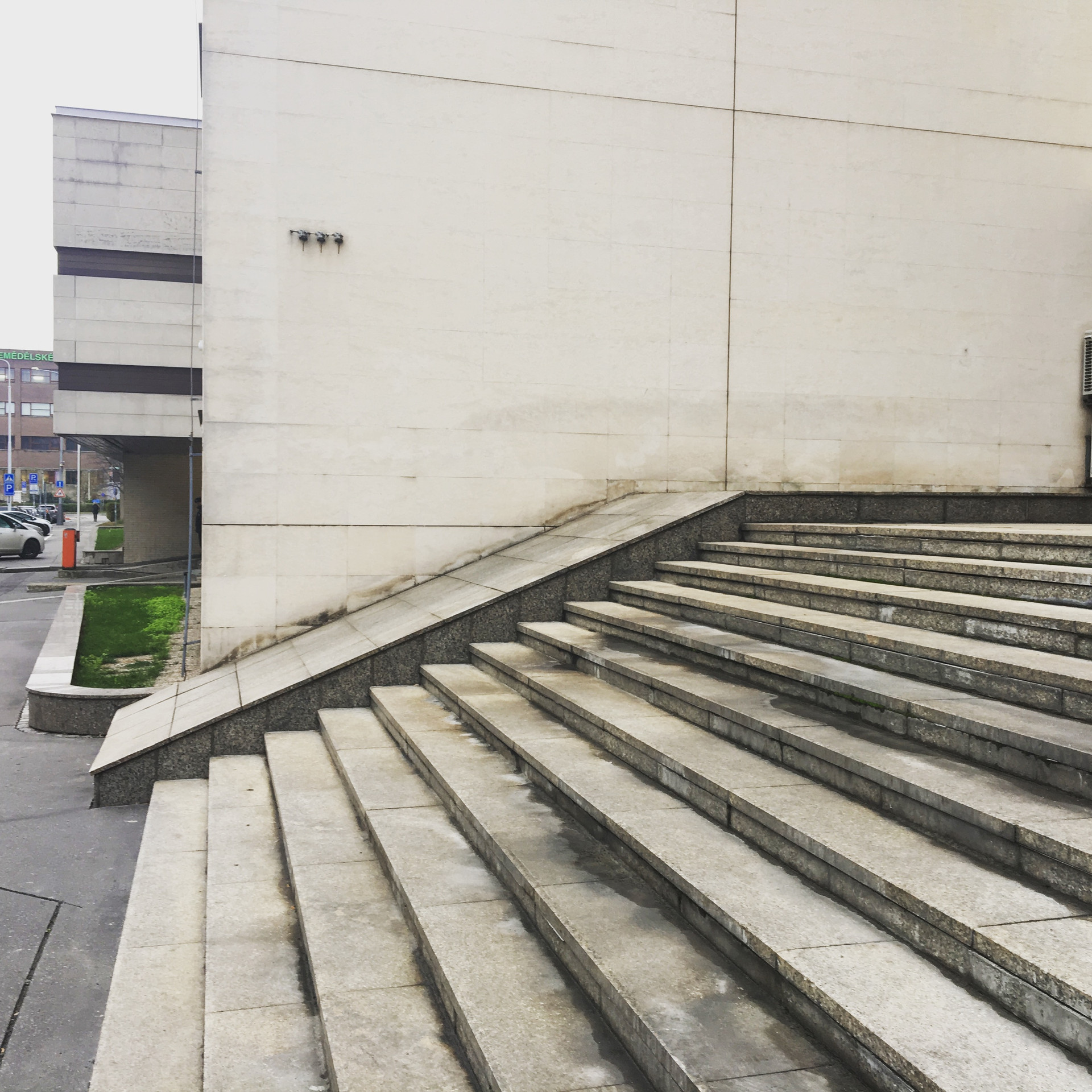 Bank 13 stairs