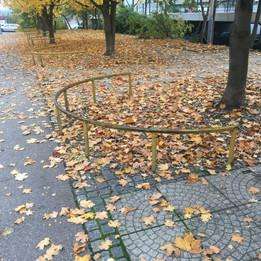 Rail to the half circle