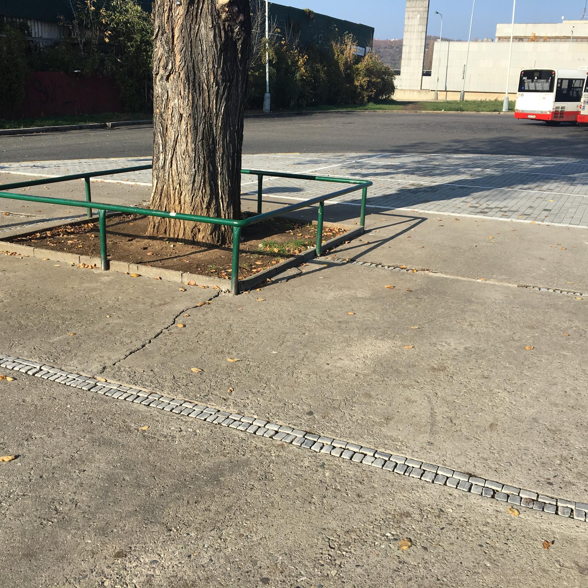 Rails on flat 