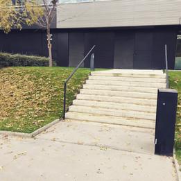 Rail 9 stairs