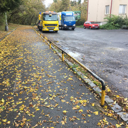 Long flat rails  