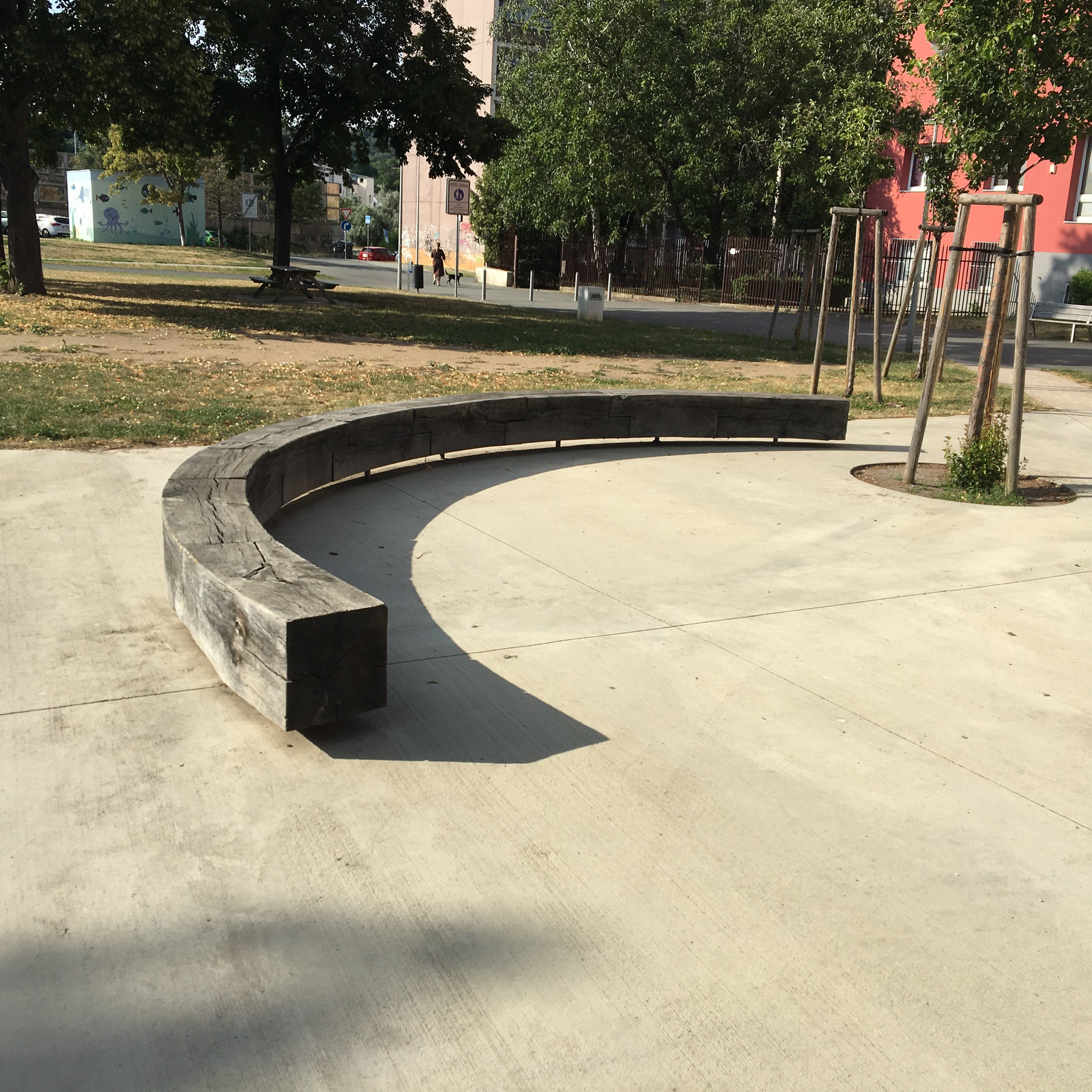 Wooden manual ledge  ​