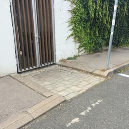 Bap from sidewalk to sidewalk