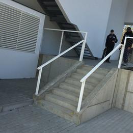 Rail 8 stairs   - Bus Station: Pelc Tyrolka - Povltavská street - Behind university