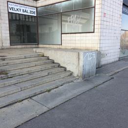 Manual ledge to the drop  