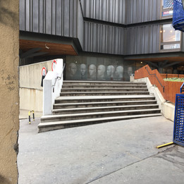 4+5 stairs  