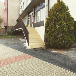 Rail 13 stairs