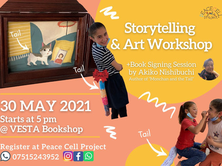 Storytelling&Art Workshop +Book signing session