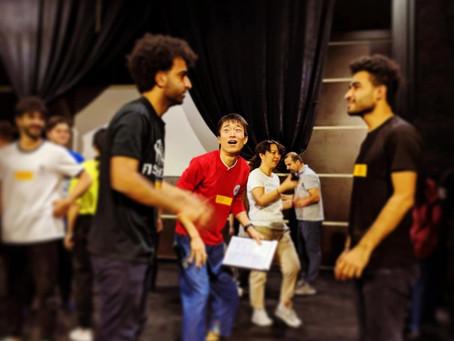 イラク初の演劇WSファシリテーター養成講座を開催したPCP演劇チームの帰国報告会!