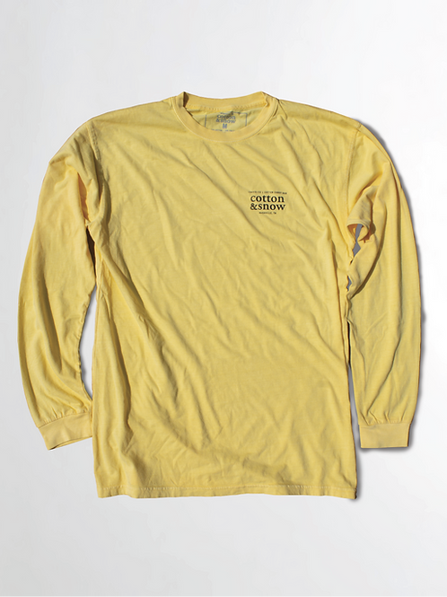 Long Sleeve Logo Banana