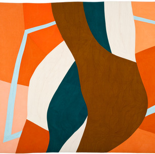 SHAPING SPACE  52 x 56 inches   Private Collection   Lakeville, CT