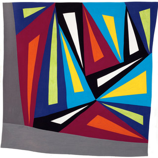 THEME AND VARIATIONS III  48 x 44 inches   Private Collection  Hicksville, NY