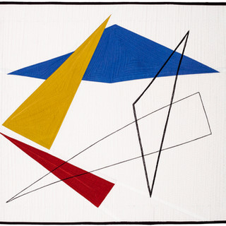 COMPOSITION WITH TRIANGLES IV  14 x 17 inches  Private Collection   Sharon, CT
