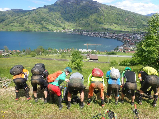 Pfingst Bikeweekend Zentralschweiz Tag 1