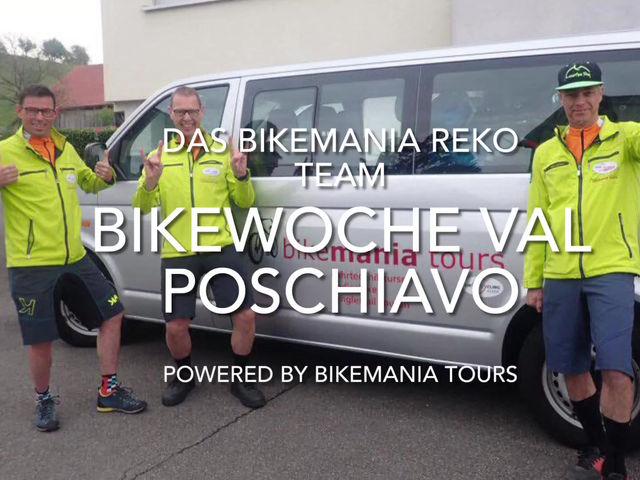 Unterwegs mit dem Bikemania Rekoteam