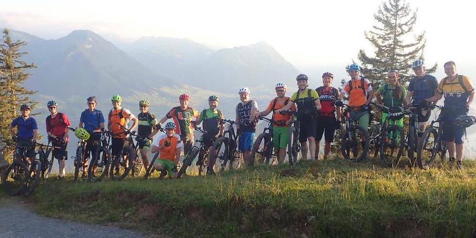Tages Biketour Rigi Scheidegg  SSCM und Freunde