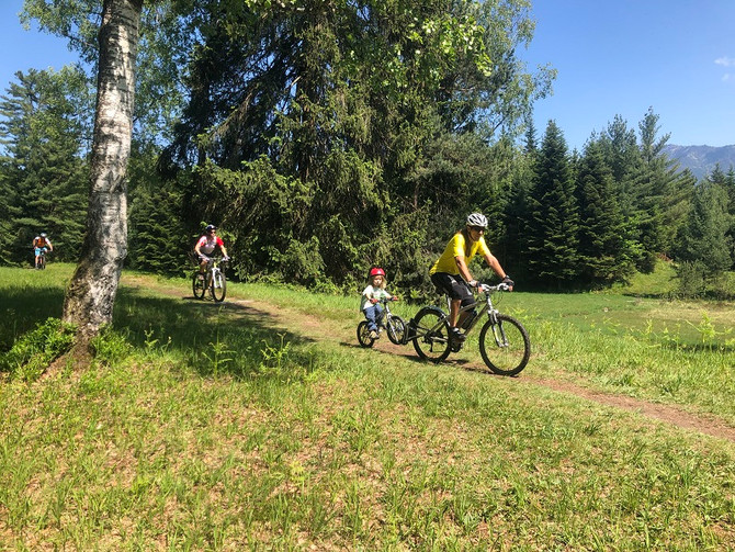 Familien Bike-Tour