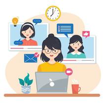 Agrupaciones femeninas se reunieron por primera vez en feria virtual
