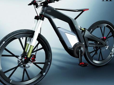 Audi E-bike: Electric by Blood