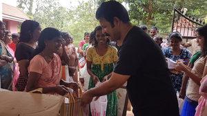 Babumon distributing free supplies on his Wedding Anniversary