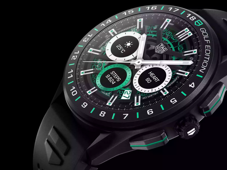Tag Heuer Connected- Straight up aesthetic.
