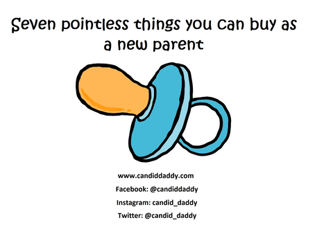 Seven pointless things you can buy as a new parent