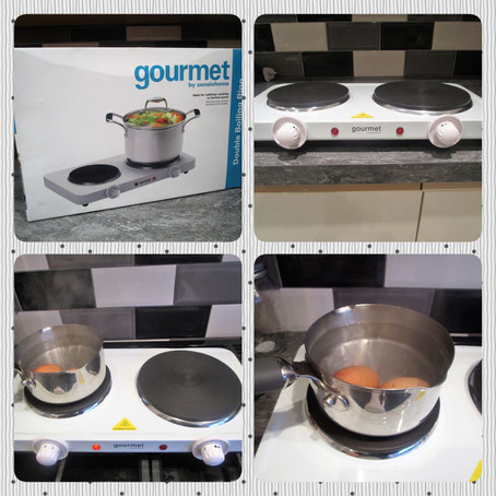 Review: Gourmet by Sensiohome Double Electric Hob Hotplate