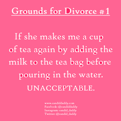 Candid Daddy - Grounds for Divorce