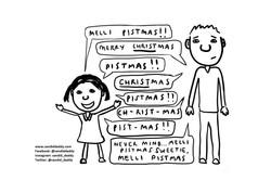 Candid Daddy - Melli Christmas