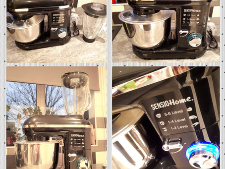 Review: Sensio Home 2-in-1 Food Processor Blender & Mixer