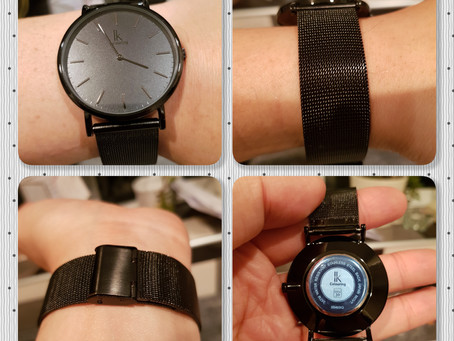 Review: Alienwork IK Black Quartz Watch - Unisex
