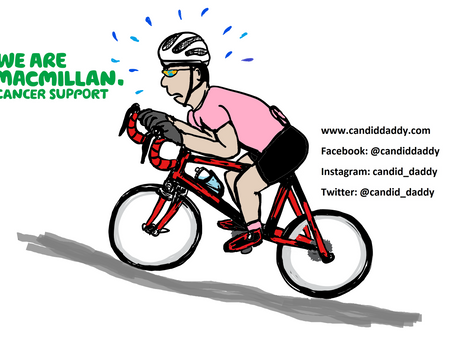 Cycling the 100 mile Velo Birmingham for Macmillan Cancer Support!