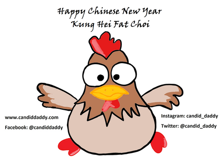 Chinese New Year 2017: Celebrating Year of the Rooster with Fam