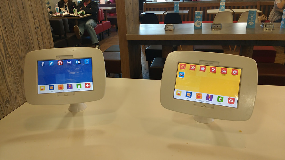 Tablets for welcome distractions