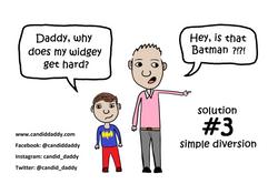 Candid Daddy - awkward question #3