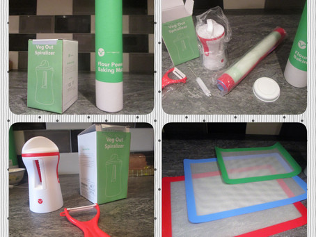 Review: Vremi Silicone Baking Mats Set and Vremi Handheld Spiralizer 3 Blade Vegetable Slicer Set