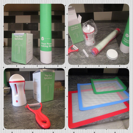 Review: Vremi Silicone Baking Mats Set and Vremi Handheld Spiralizer 3 Blade Vegetable Slicer Set
